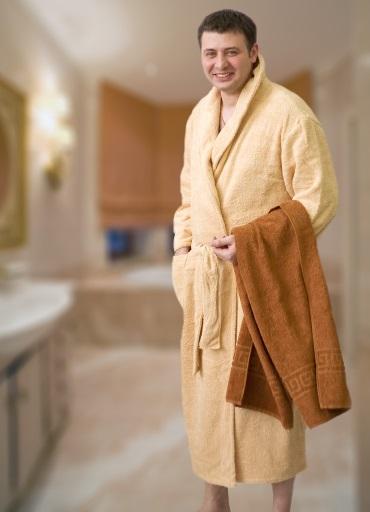 мужской халат